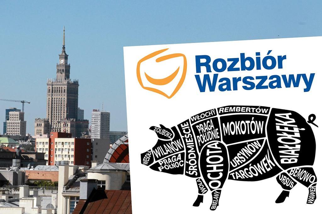 Nowe okręgi wyborcze w Warszawie