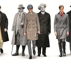 Męskie płaszcze na 6 różnych sposobów
