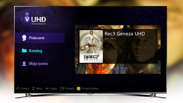 Samsung Strefa VOD UHD