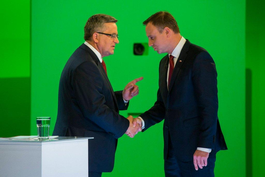 Debata Komorowski-Duda w TVN