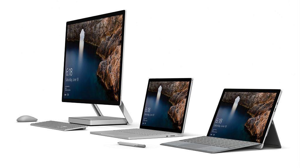 Rodzina komputerów z serii Surface