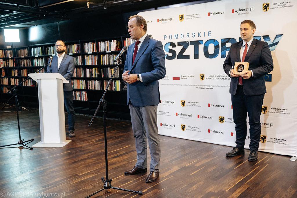 Uroczystość wręczenia Pomorskich Sztormów 2019.