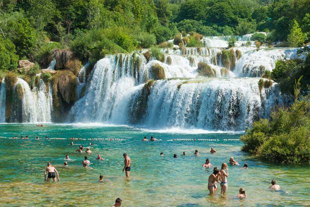 Slatine / Park Narodowy w Krka