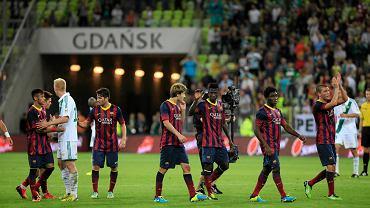 Super Mecz Lechia Gdańsk - FC Barcelona