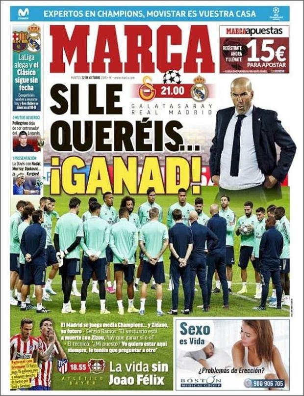 Zidane może zostać zwolniony z Realu Madryt