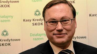 Grzegorz Bierecki, jeden z założycieli SKOK