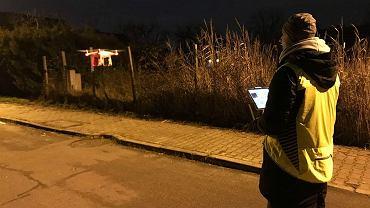 Smogowy dron startuje do badań dymu nad Gumieńcami