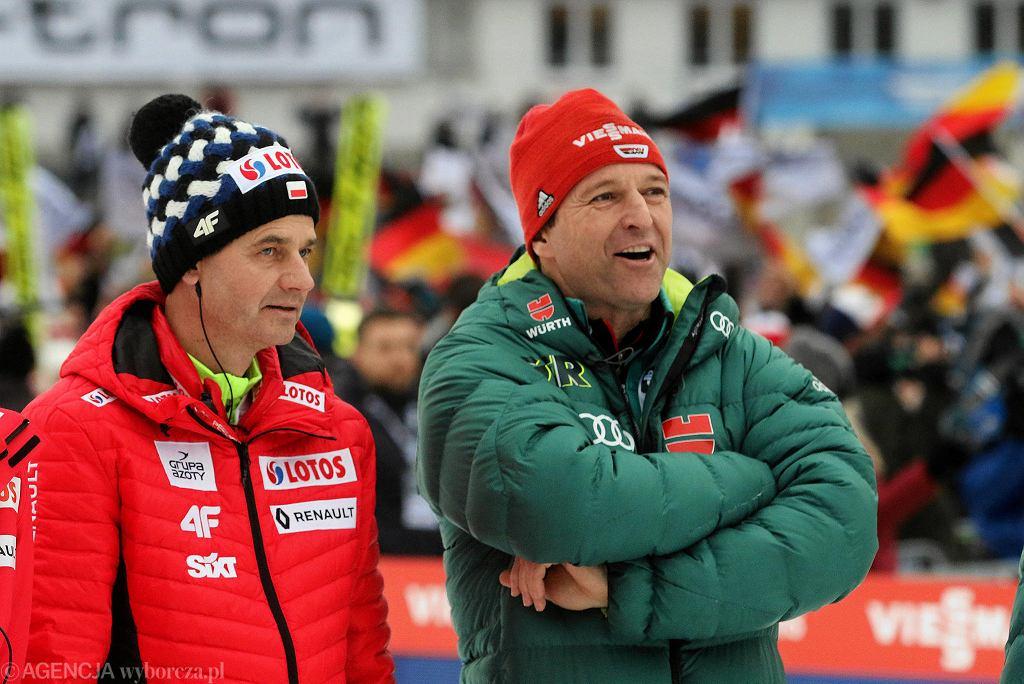 Stefan Horngacher i Werner Schuster