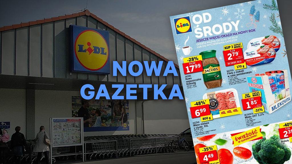 Gazetka Lidl od 2.01 2019: bogata oferta przekąsek