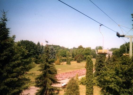 Elka dawniej/ Fot. www.parkslaski.pl