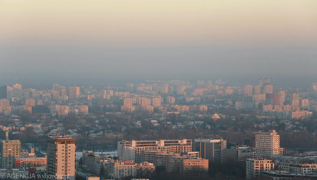 Smog. Warszawa