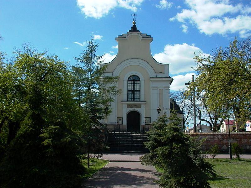 Kościół Podwyższenia Krzyża Świętego w Górze Kalwarii / Fot. Klemens - Praca własna, CC BY-SA 2.5.