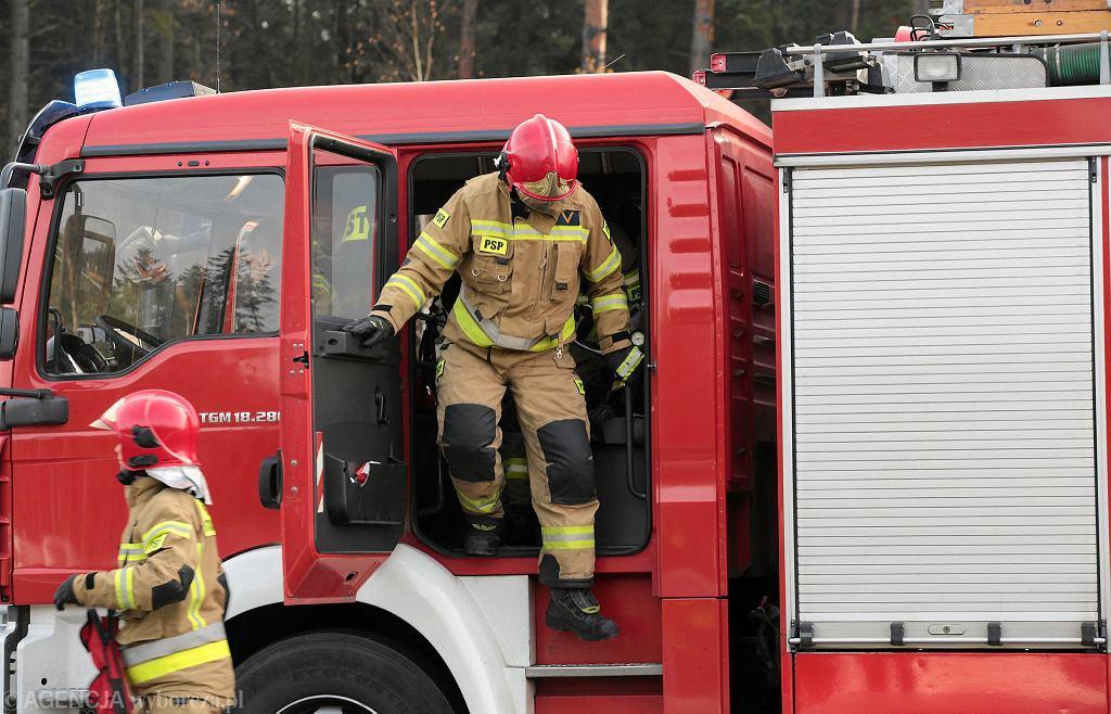 Straż pożarna. Zdjęcie ilustracyjne
