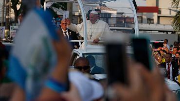 Światowe Dni Młodzieży 2019 w Panamie. Papież Franciszek dotarł na miejsce