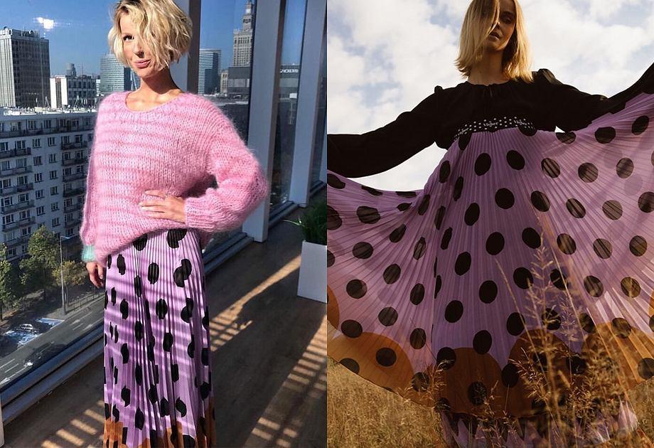 TRENDY: Magda Mołek w plisowanej spódnicy | Moda, Styl