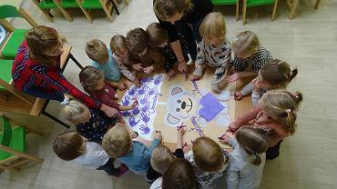 Kielce, 17 listopada 2020. Światowy Dzień Wcześniaka w kieleckich przedszkolach