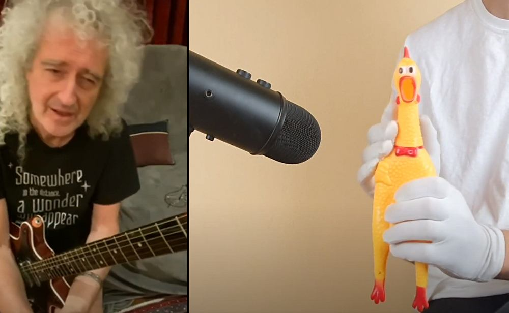 We Are The Champion -Brian May and Rubber Chicken?? cover)