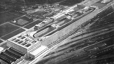 Fabryka Fiata w Lingotto w 1928 roku