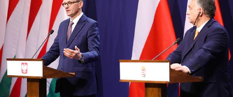 Morawiecki i Orban podpisali porozumienie ws. negocjacji budżetu UE