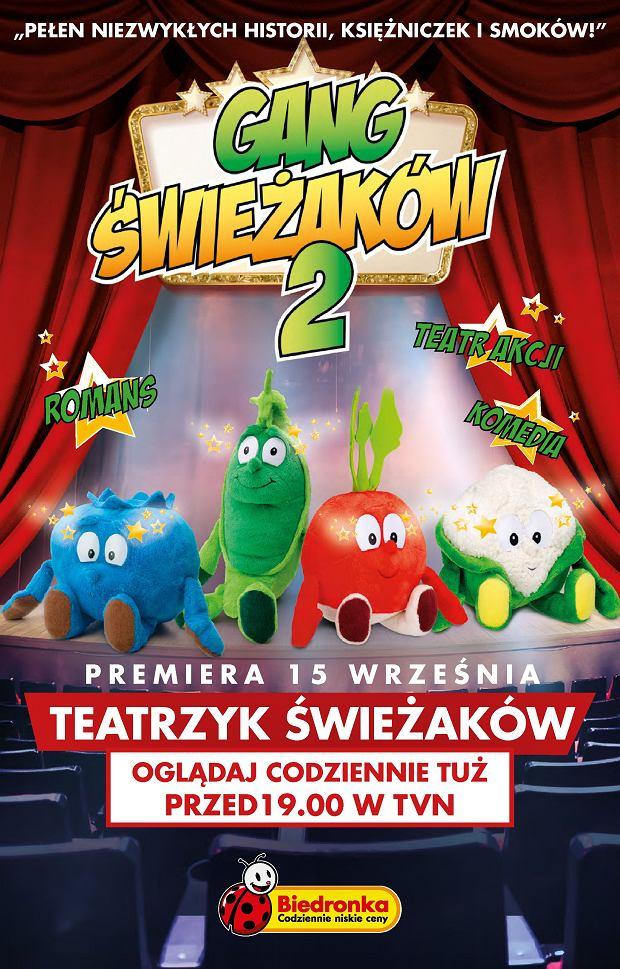 Teatrzyk Świeżaków zadebiutuje na antenie TVN w piątek 15 września. Gang Świeżaków na małym ekranie - jesteście ciekawi, co z tego wyniknie?
