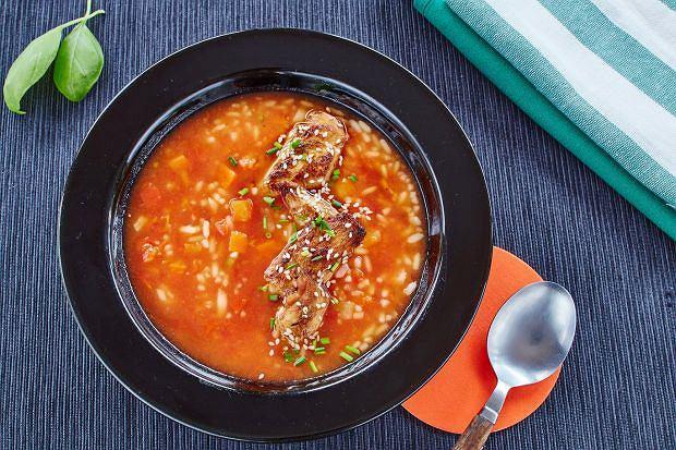Orientalna zupa słodko-kwaśna
