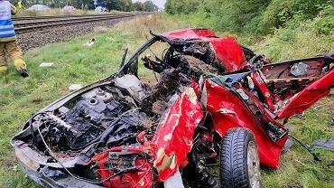 Wypadek w Motylewie