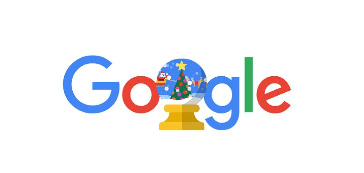 Świąteczne Google Doodle (zdjęcie ilustracyjne)
