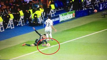 Sporna sytuacja w meczu Real - Ajax