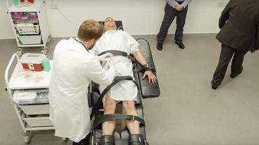 Rekonstrukcja wykonania kary śmierci przez podanie trucizny