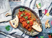 Dorsz duszony w sosie pomidorowo-imbirowym - ugotuj