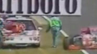 Taki Inoue potrącony przez samochód medyczny