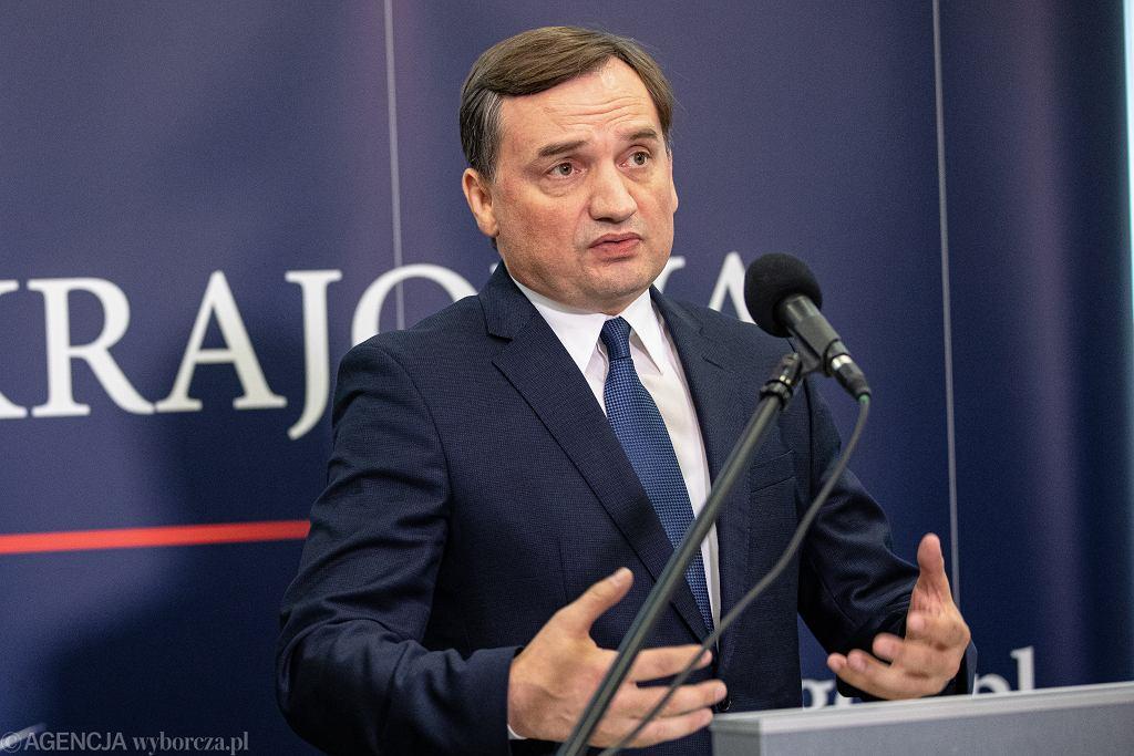 Prokurator generalny i minister sprawiedliwości Zbigniew Ziobro