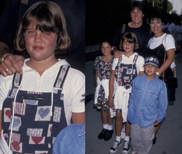 Khloe Kardashian z rodziną