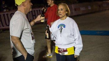 Elvira Montes na trasie mistrzostw świata w Piwnej Mili