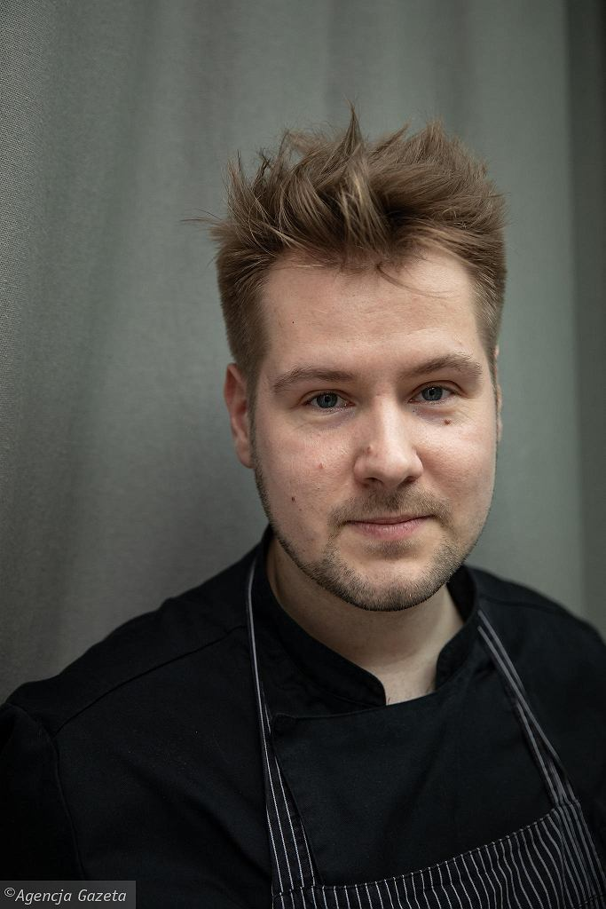 Maciej Bartkowiak, szef kuchni restauracji Shoku / DAWID ZUCHOWICZ