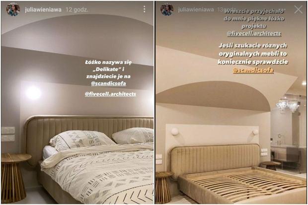 Łóżko Julii Wieniawy
