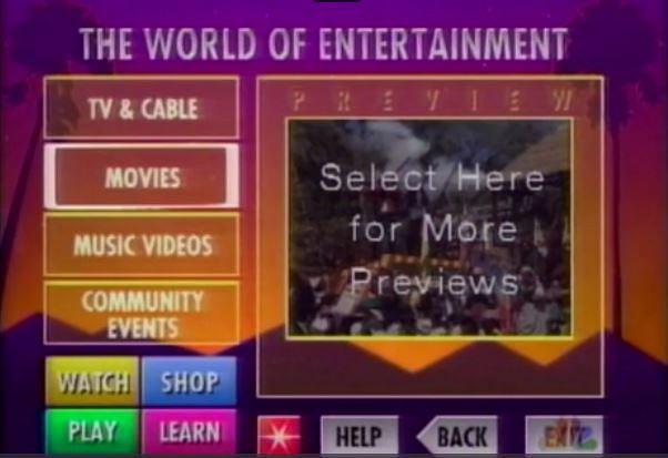 Eksperymentalny interaktywny serwis wideo