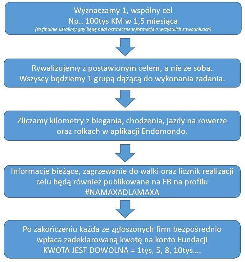 Schemat akcji #NAMAXADLAMAXA