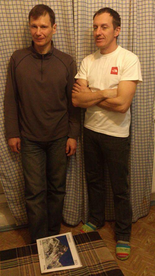 Aleksiej Bołotow i Denis Urubko