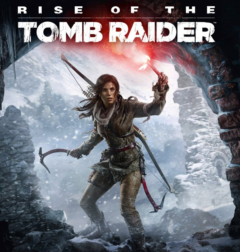 Rise of the Tomb Raider - okładka
