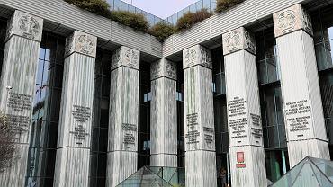 Siedziba Sądu Najwyższego.