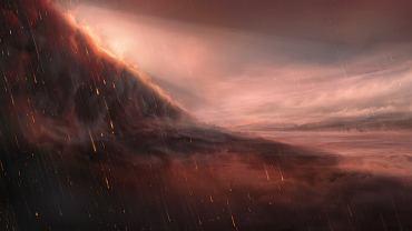 Kosmos. Naukowcy odkryli planetę, na której pada deszcz... żelaza