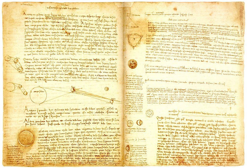 W Warszawie będzie można zobaczyć najdroższą książkę świata. Napisał ją sam Leonardo da Vinci