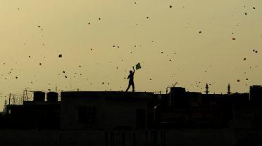 Latawce w New Delhi