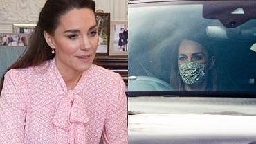 Księżna Kate po emisji wywiadu Meghan i Harry'ego udawała, że wszystko jest w porządku. Później przyłapali ją paparazzi
