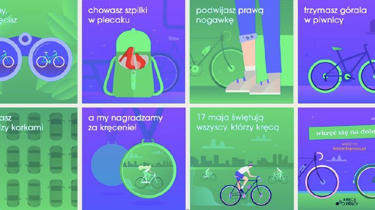 Kręcę do pracy - akcja, która nagradza za jazdę na rowerze do pracy