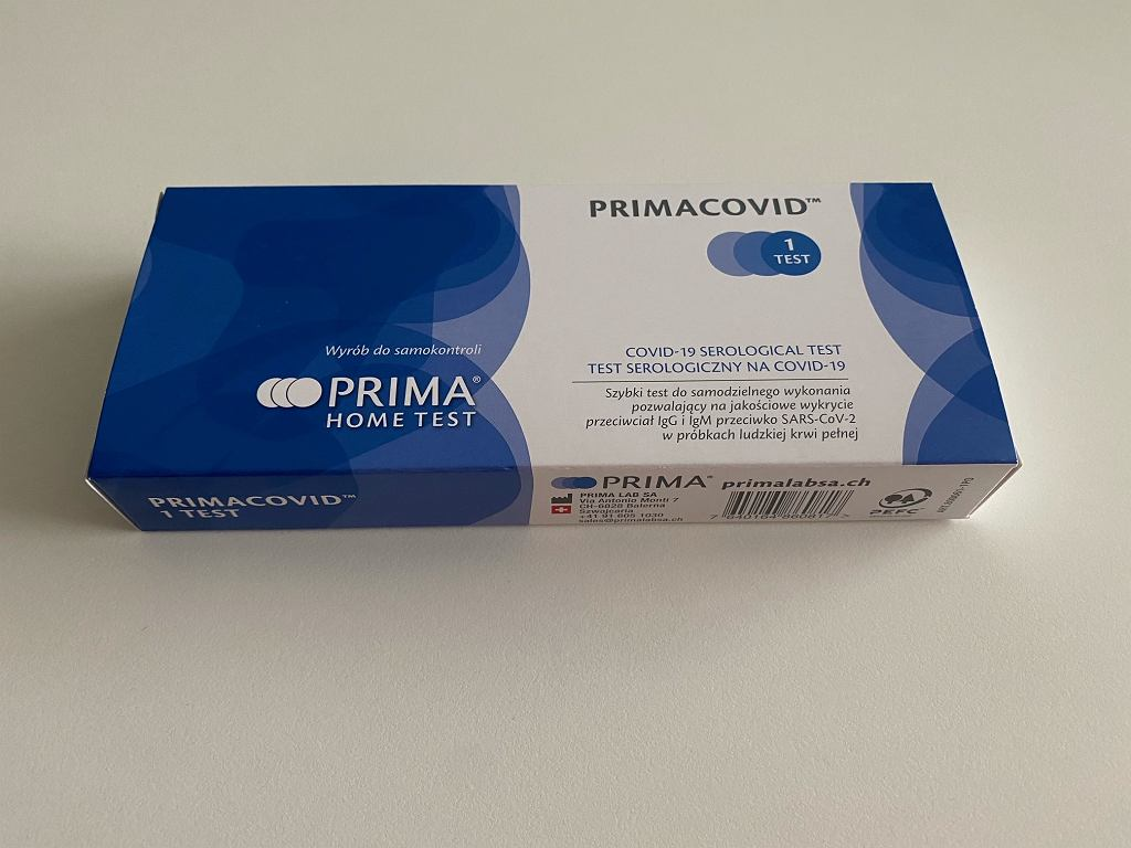 Testy na przeciwciała COVID-19 kupicie w drogerii. Teraz są na promocji
