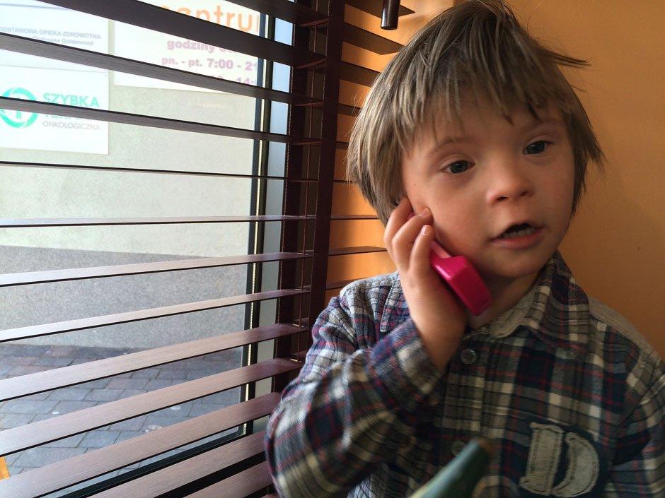 Telefon do taty (fot. archiwum prywatne)