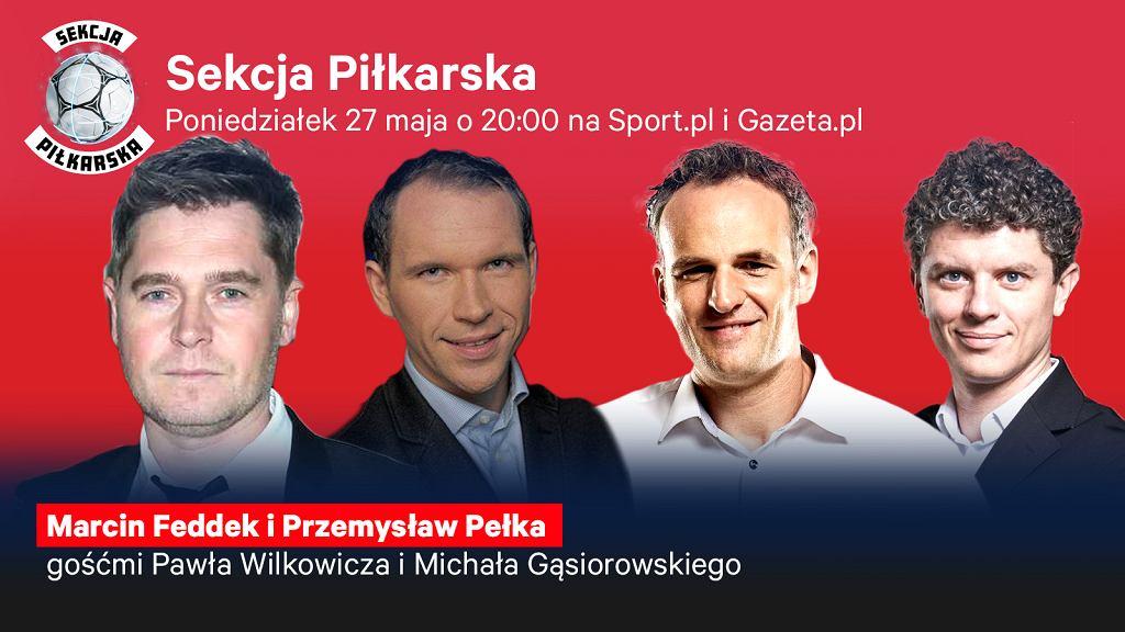 Marcin Feddek i Przemysław Pełka gośćmi Sekcji Piłkarskiej