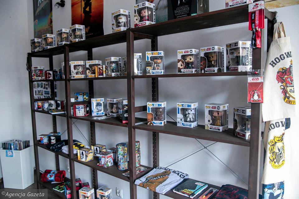 e4ee591319ec42 Pierwszy sklep popkulturowy w mieście. Dla fanów gier i filmów - zdjęcie nr  3